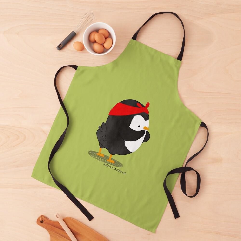 Pinup Penguin Apron