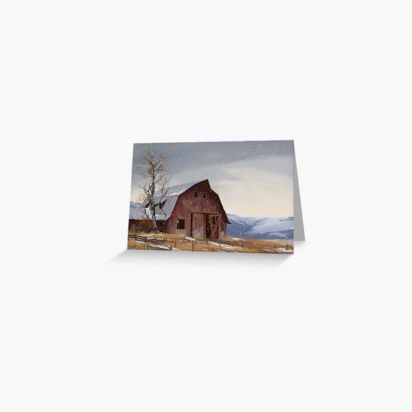 Maple farms  Greeting Card