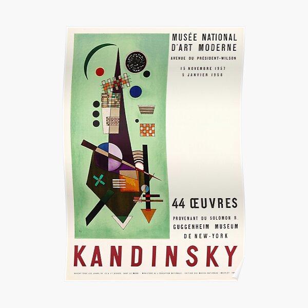 Affiche de l'exposition Kandinsky 1957 Poster