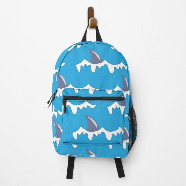 Shark Fin Pattern Backpack