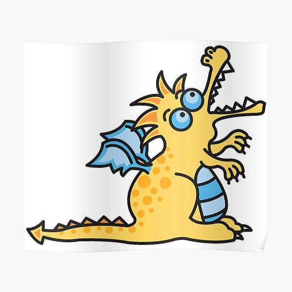 Yellow Magic Dragon Poster