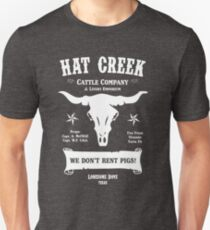 Hat Creek Cattle Company - Lonesome Dove Unisex T-Shirt