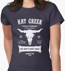 Hat Creek Cattle Company - Lonesome Dove Women's Fitted T-Shirt