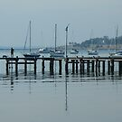 Pier Reflections by TracyD