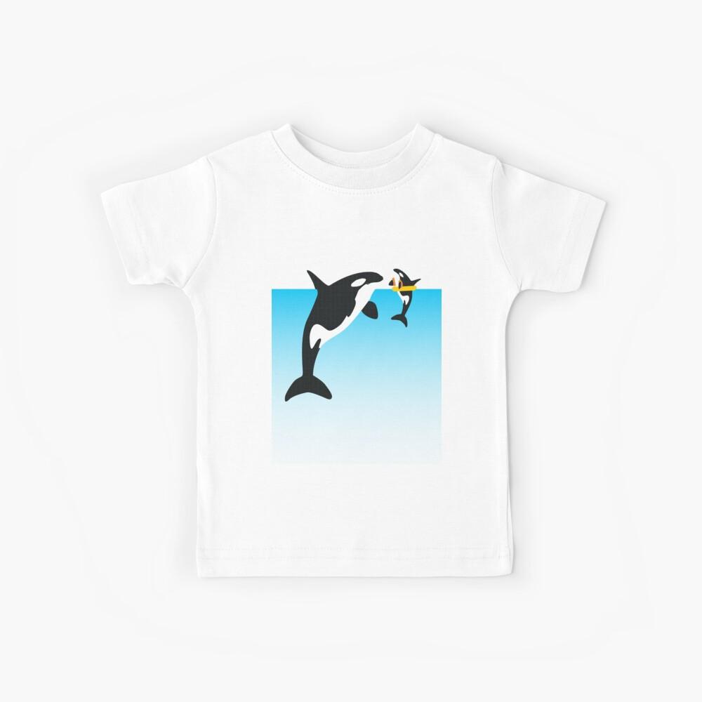 Orca Camiseta para niños