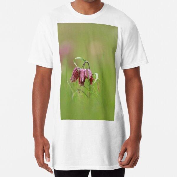 Flowering fritillaries Long T-Shirt