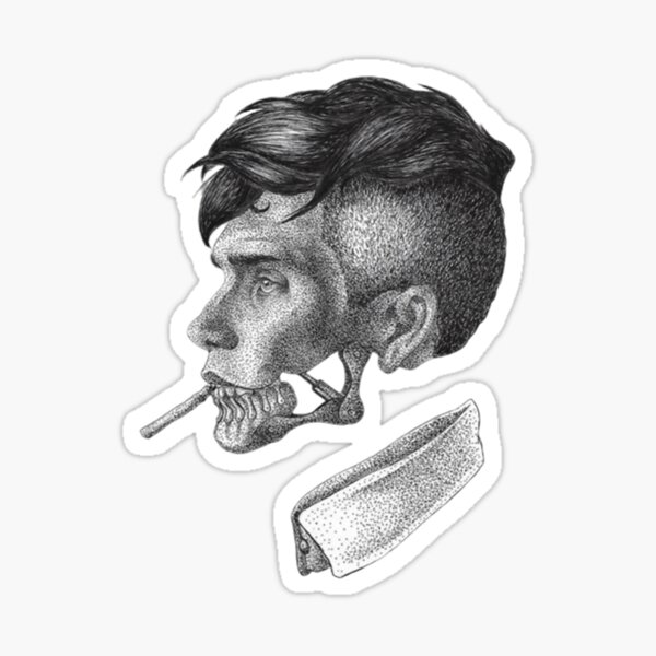 Cillian Murphy ART Sticker
