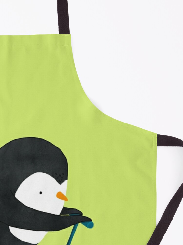 Alternate view of Penguin on Scooter Apron