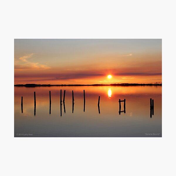 Serene Sound Photographic Print