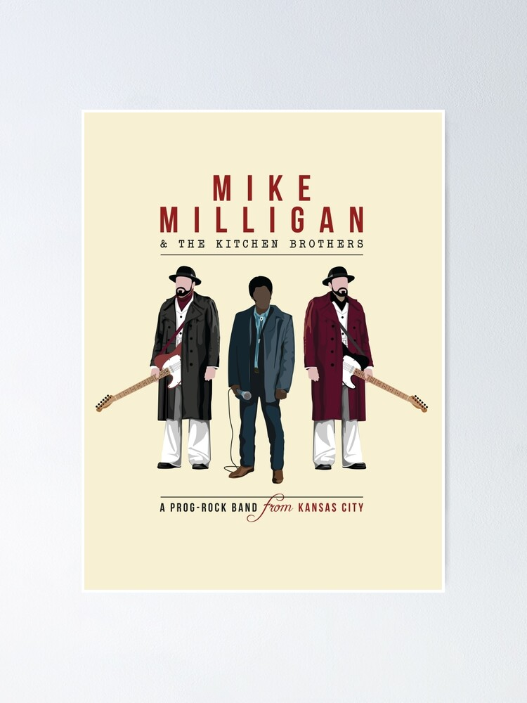 Mike Milligan The Kitchen Brothers Fargo Poster By Baridesign Redbubble