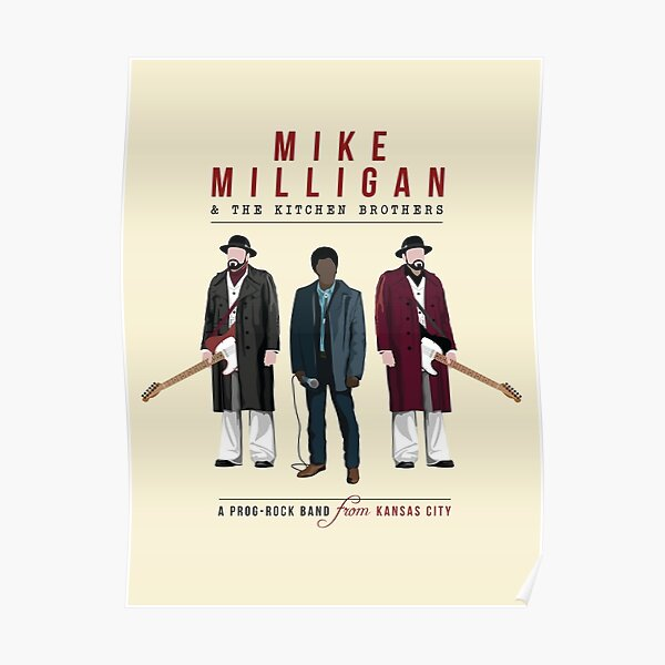 Mike Milligan & The Kitchen Brothers - FARGO Poster