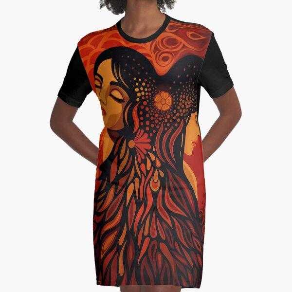 Atonement Graphic T-Shirt Dress