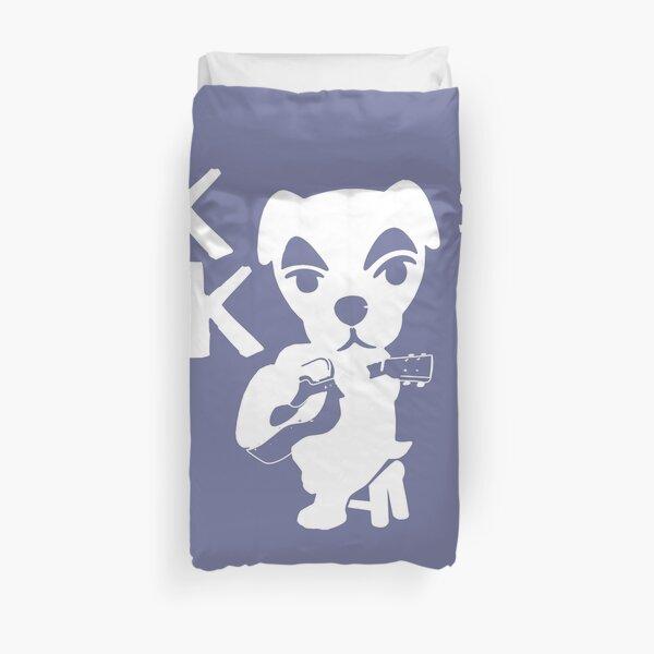 KK Slider Animal Crossing Band Album Design Duvet Cover