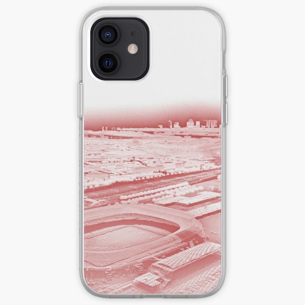 De Kuip Rotterdam Purple Point Cloud iPhone Case & Cover