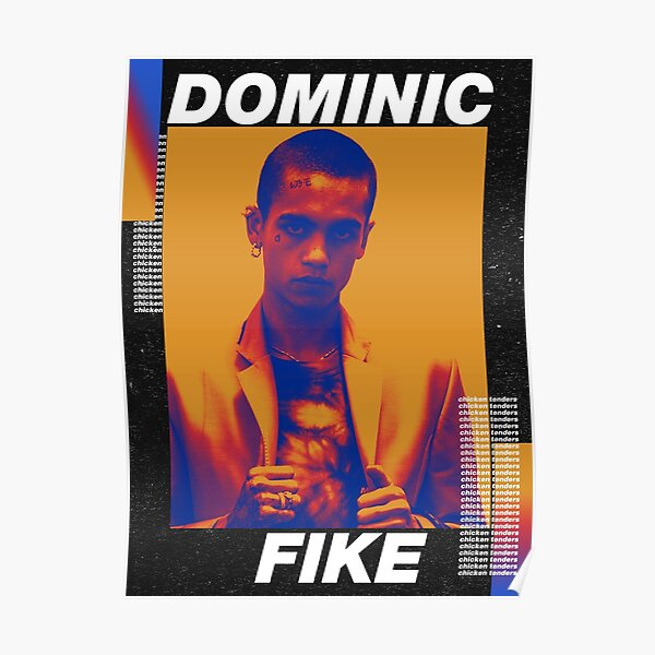 Dominic Fike's Iridescence Poster