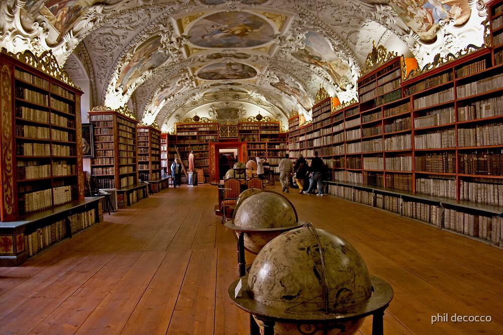 Strahov Monastery Library by phil decocco