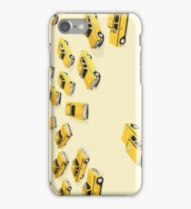 22 Yellow Taxis iPhone Case/Skin