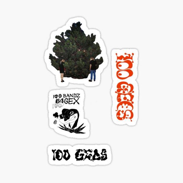 100 gecs sticker pack Sticker
