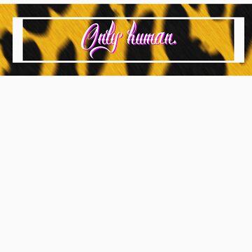Only human - Leopard logo by teenmutantboss