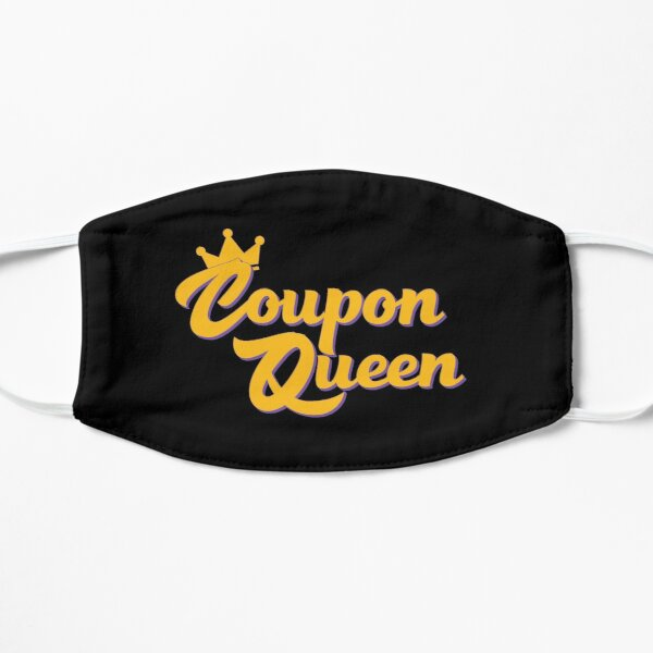 Coupon Queen Flat Mask