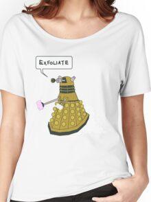 EXFOLIATE Dalek Women's Relaxed Fit T-Shirt