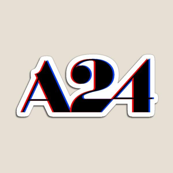 A24 Glitch Logo Magnet