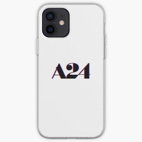 A24 Glitch Logo iPhone Soft Case
