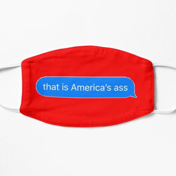 america's ass Flat Mask