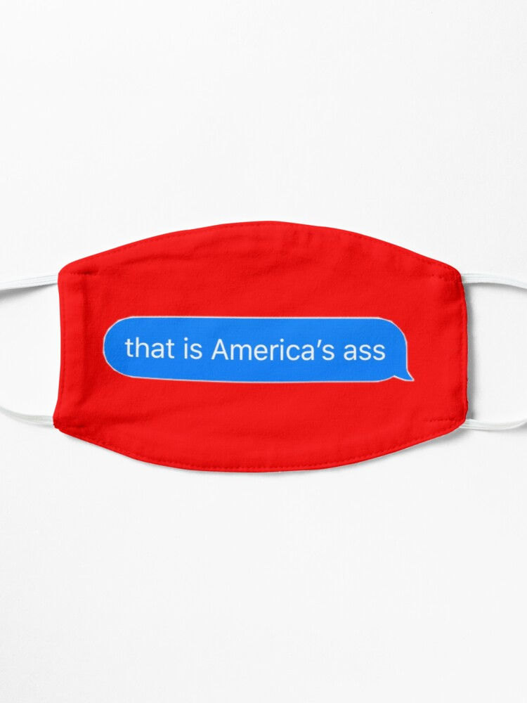 Alternate view of america's ass Mask