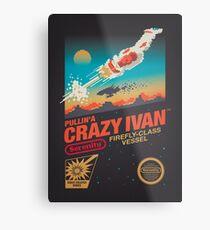 Crazy Ivan Metal Print