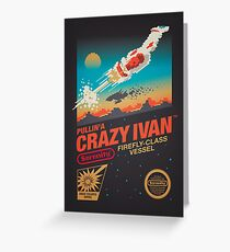 Crazy Ivan Greeting Card