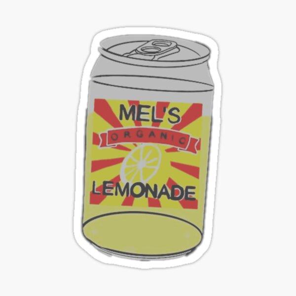 mel's lemonade from lemonade mouth Sticker