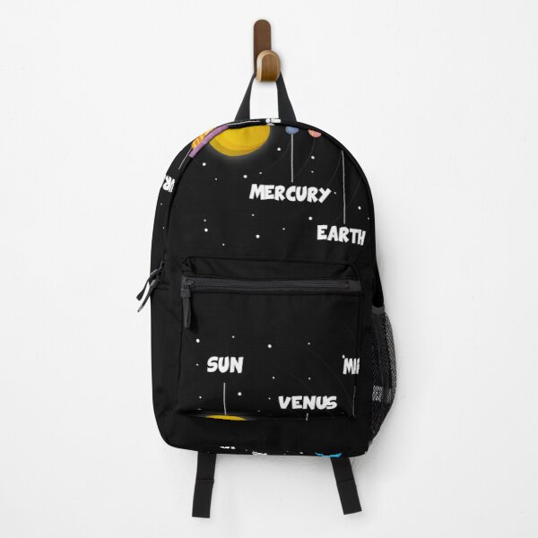 Planets with names Backpack