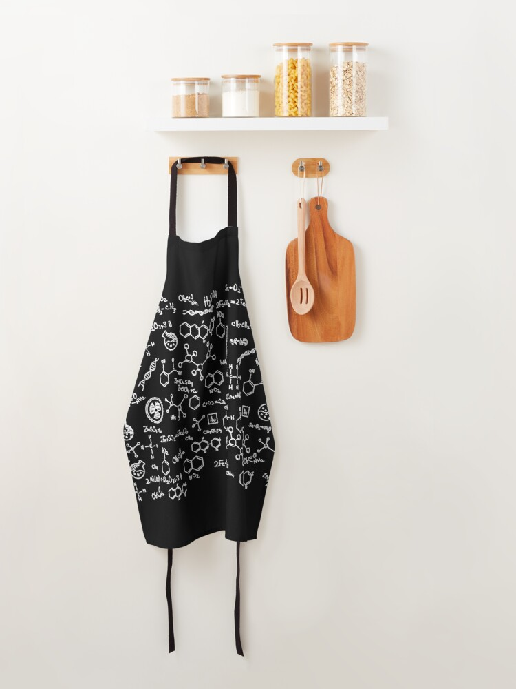 Alternate view of Science Chemistry Pattern  Apron