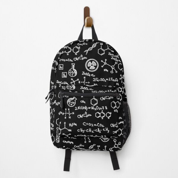 Science Chemistry Pattern  Backpack