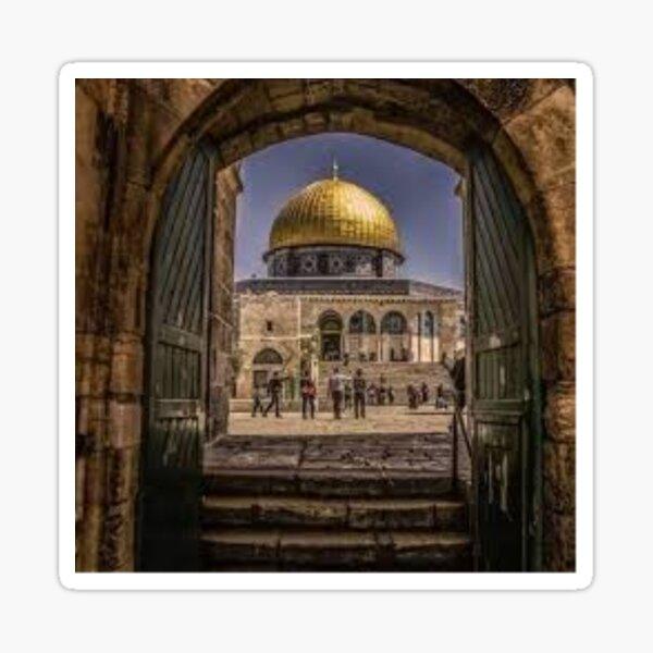 qods jerusamem palestine Sticker