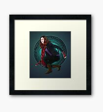 Amy and the Pandorica (Doctor Who) Framed Print