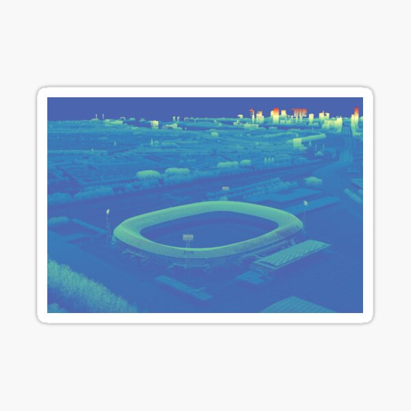 Feyenoord Stadium De Kuip Rotterdam Sticker