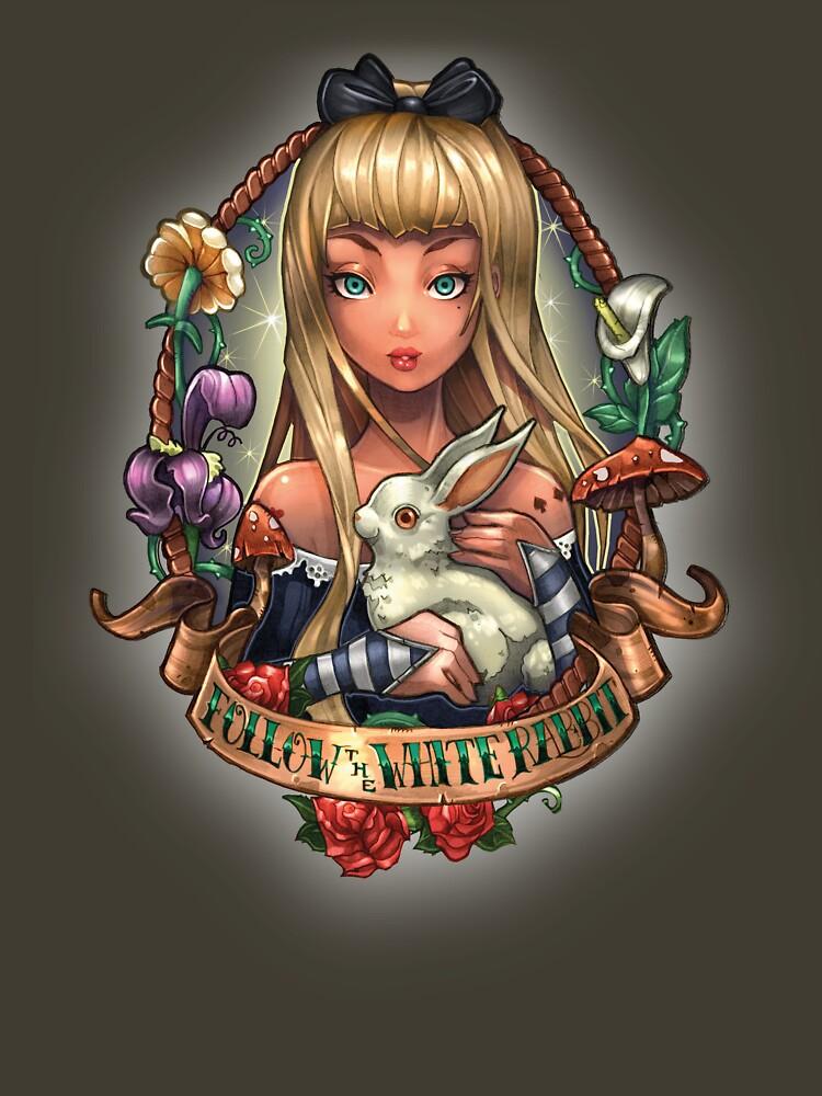 Follow the White Rabbit | Unisex T-Shirt