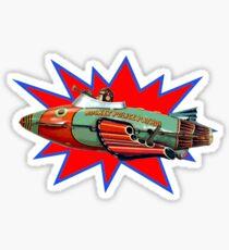 Rocket Police Sticker