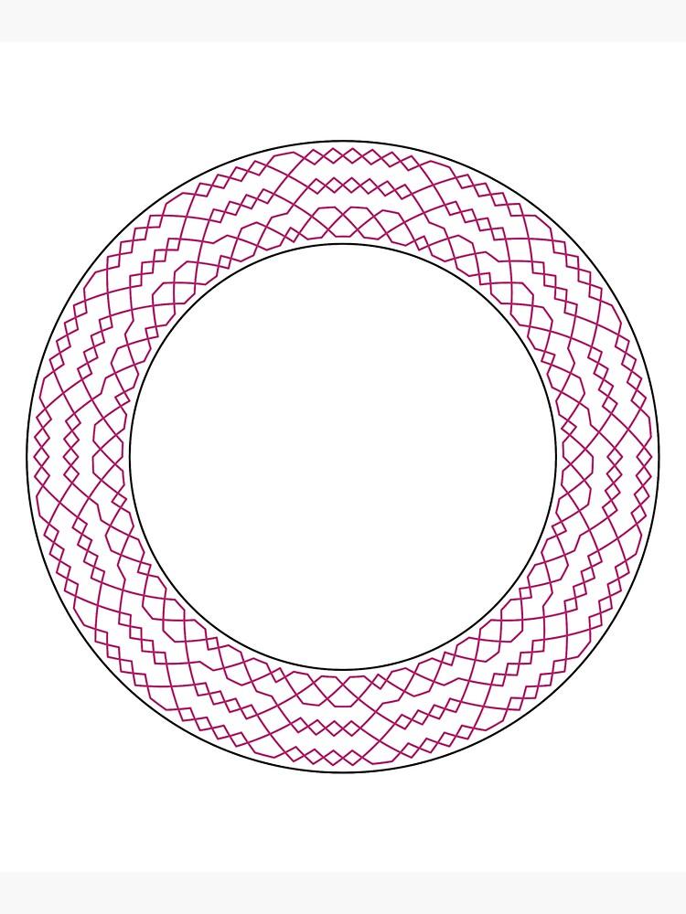 Stedman Triples Method Wreath — Tote Bag by RingingRoom