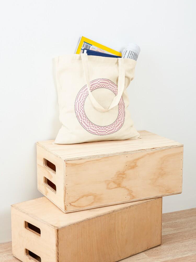Alternate view of Stedman Triples Method Wreath — Tote Bag Tote Bag