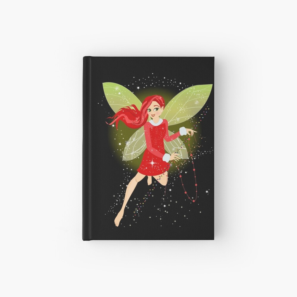 Holly In A Fairy Tale Christmas™ Hardcover Journal