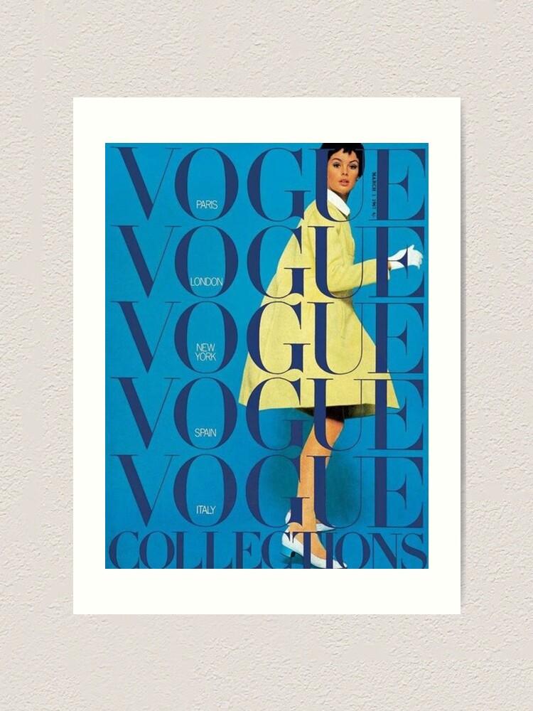 Alternate view of vogue vintage aesthetic Art Print