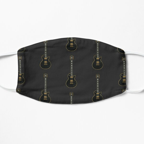 Lp Guitar - Black Flat Mask