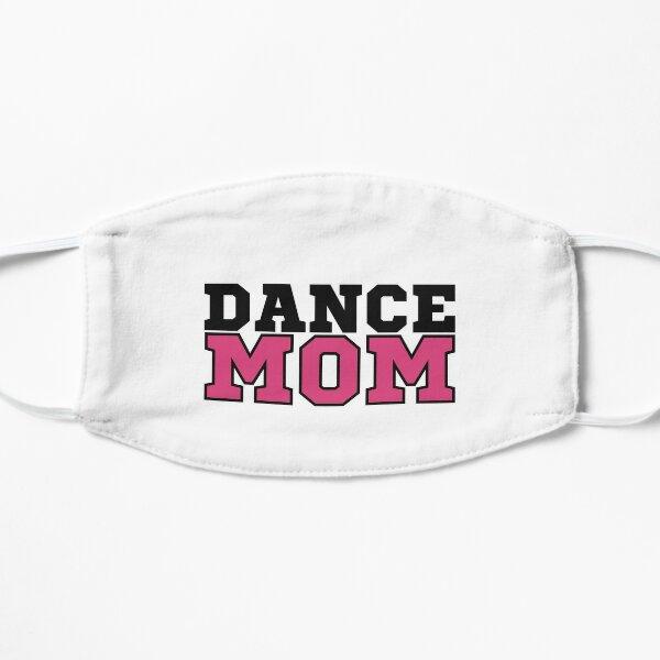 Dance Mom Sports Lettering - Pink Flat Mask