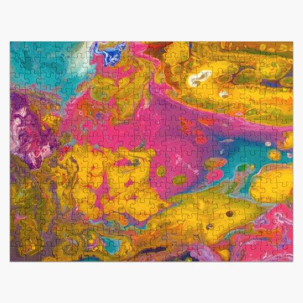 Pink Sherbert by Noora Elkoussy Jigsaw Puzzle