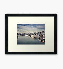 Green Point N.Y.C Framed Print