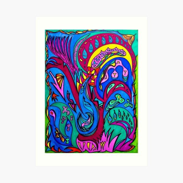Coagulation Art Print