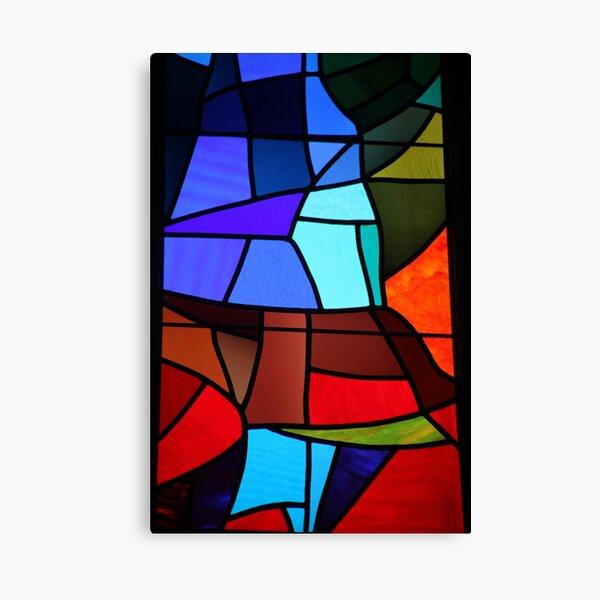 Barcelona Window Canvas Print